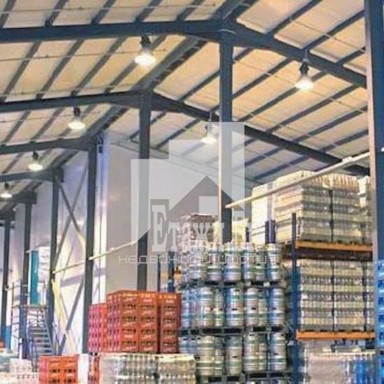 Етажи предлага складова база за продажба и под наем  в Горубляне  !!!