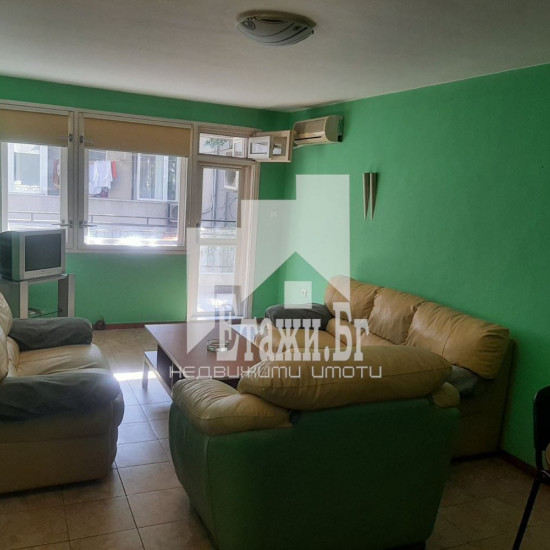 Тристаен обзаведен апартамент в района на Чаталджа