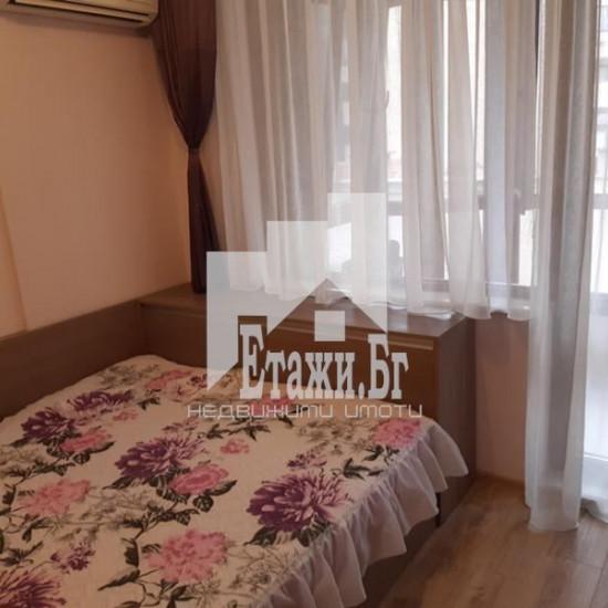 Двустаен южен напълно обзаведен апартамент в района на Зимно кино Тракия