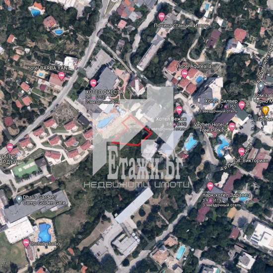 EXCLUSIVELY ATTRACTIVE plot of land in the area of ​​Kabakum Square