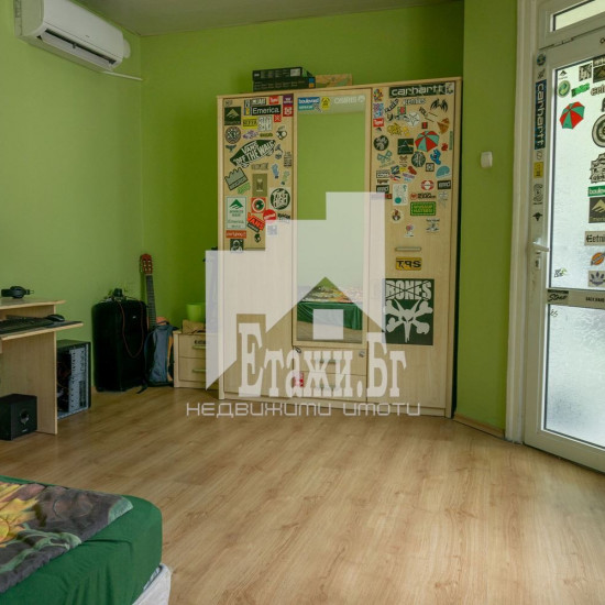 SECOND FLOOR of a two-storey building for sale, center!